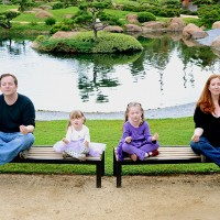 family yoga portrait