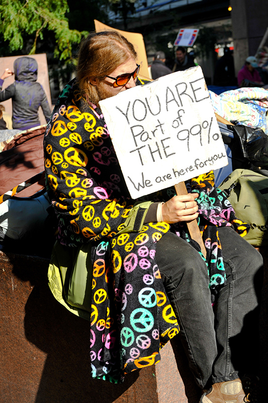 occupy seattle protester