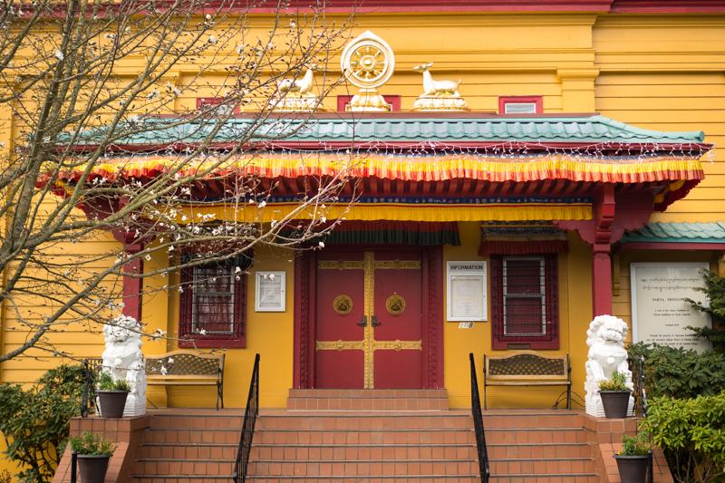 Buddhist meditaiton temple