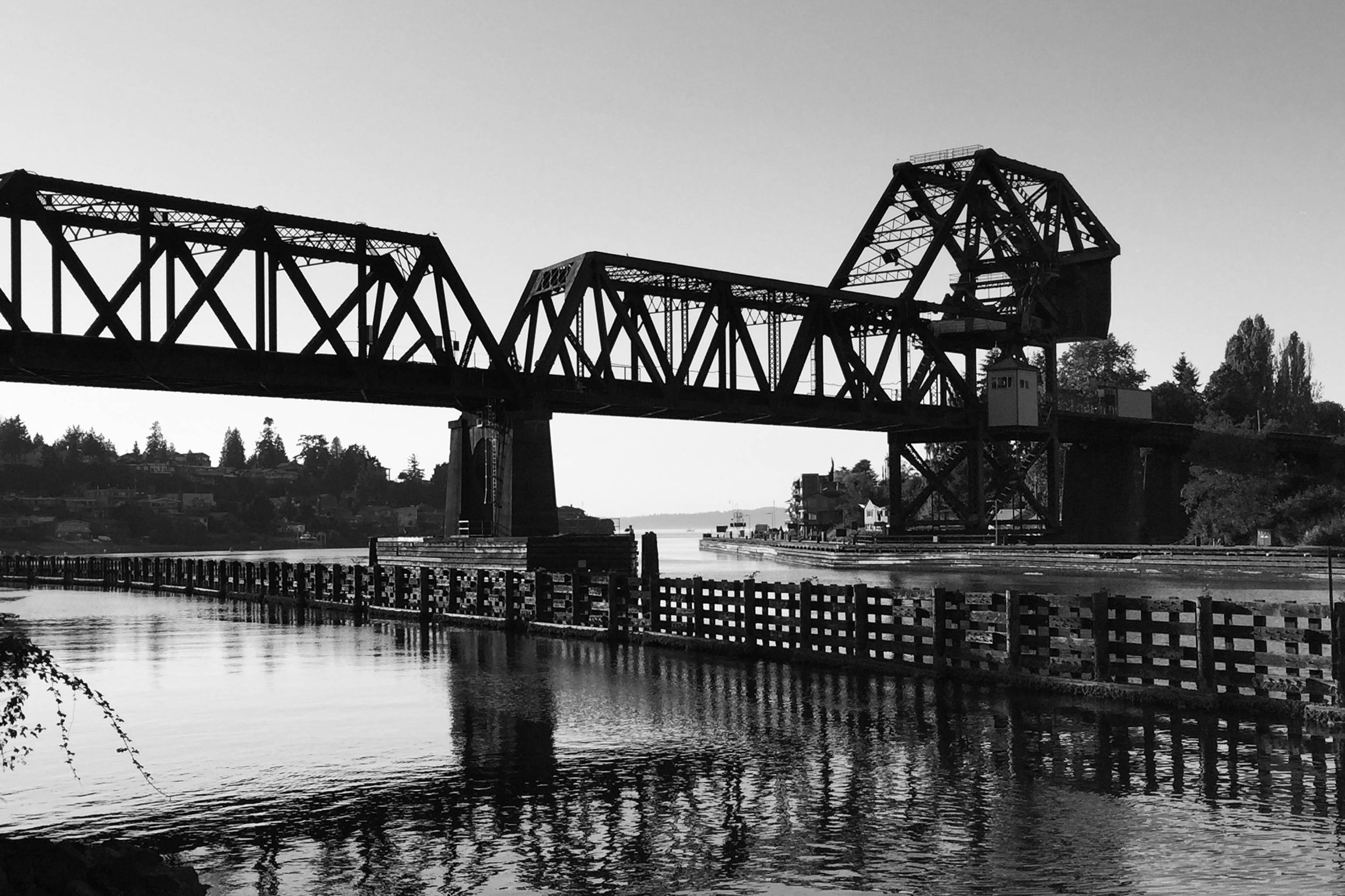Salmon Bay Bridge_Ballard Locks