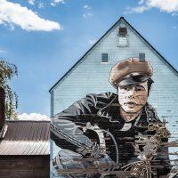 Marlon Brando mural