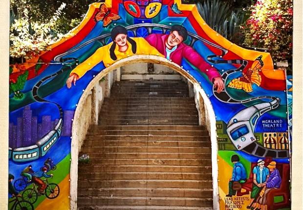 Haramokngna Street Mural