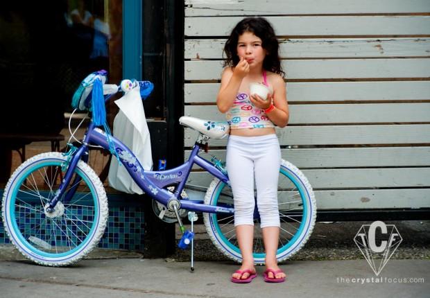 Child Eating Ice Scream