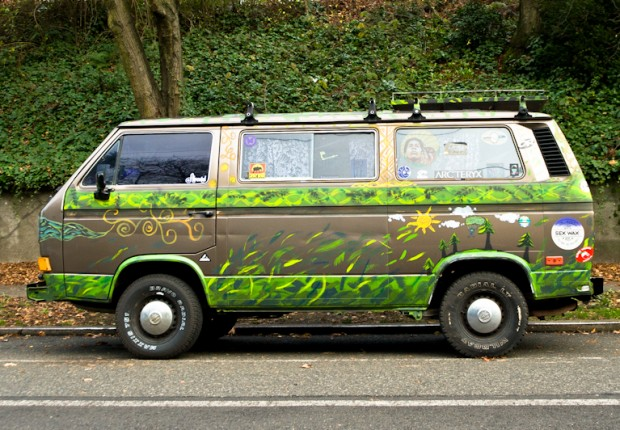 Green Forest Van