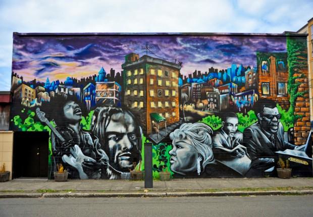 Seattle Street Mural
