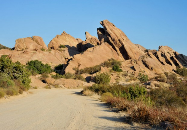 Vasquez Rocks California
