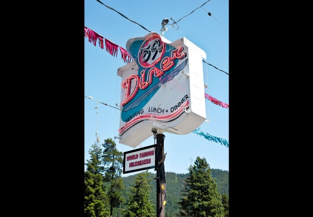 59er Diner Sign