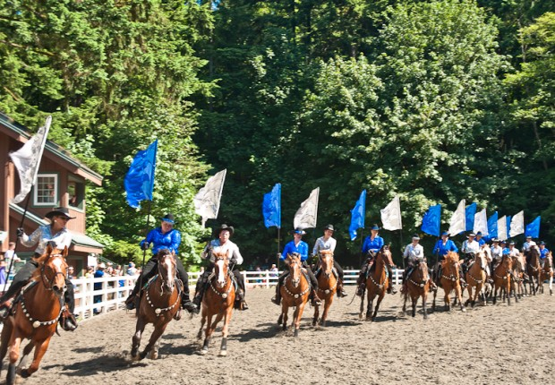 high valley riders horse drill team