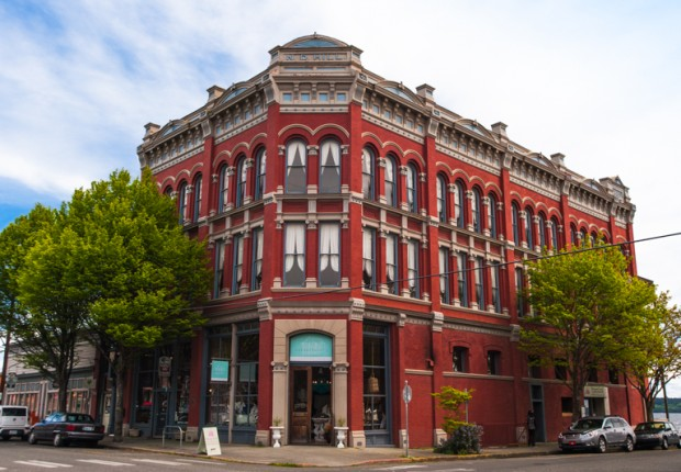 Port Townsend Victorian Building
