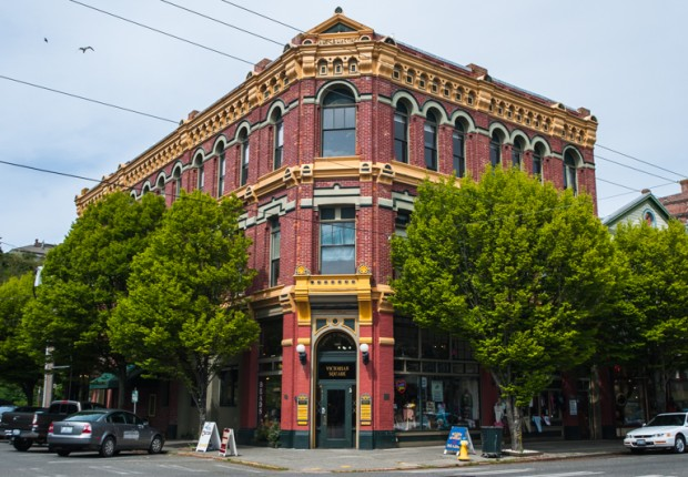 Victorian Building in Port Townsend