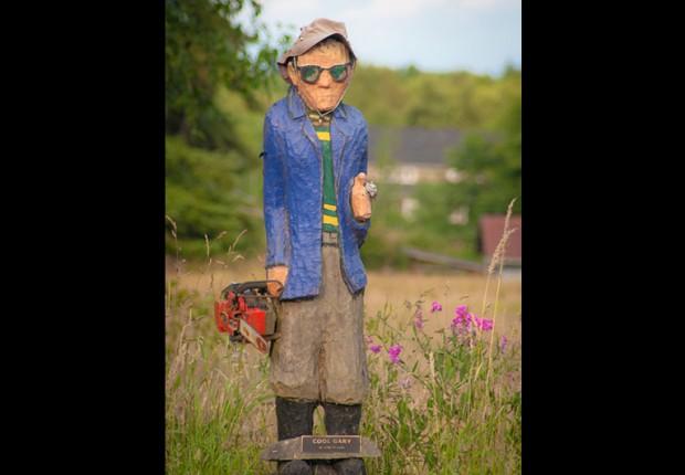Cool Gary sculpture