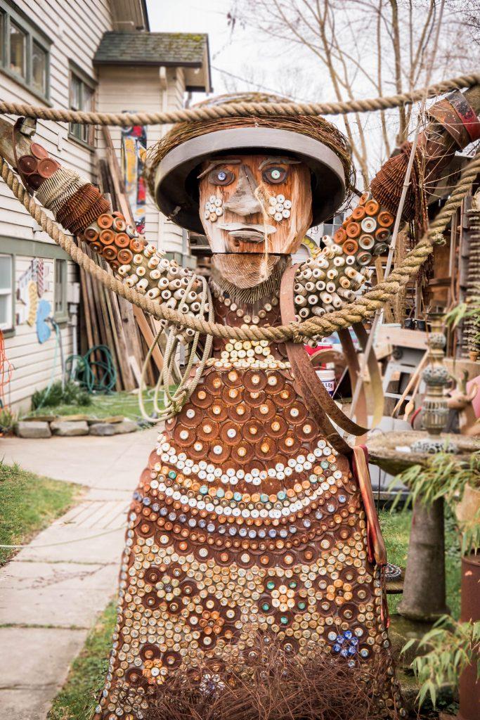antique, antiques, art, folk art, junk art