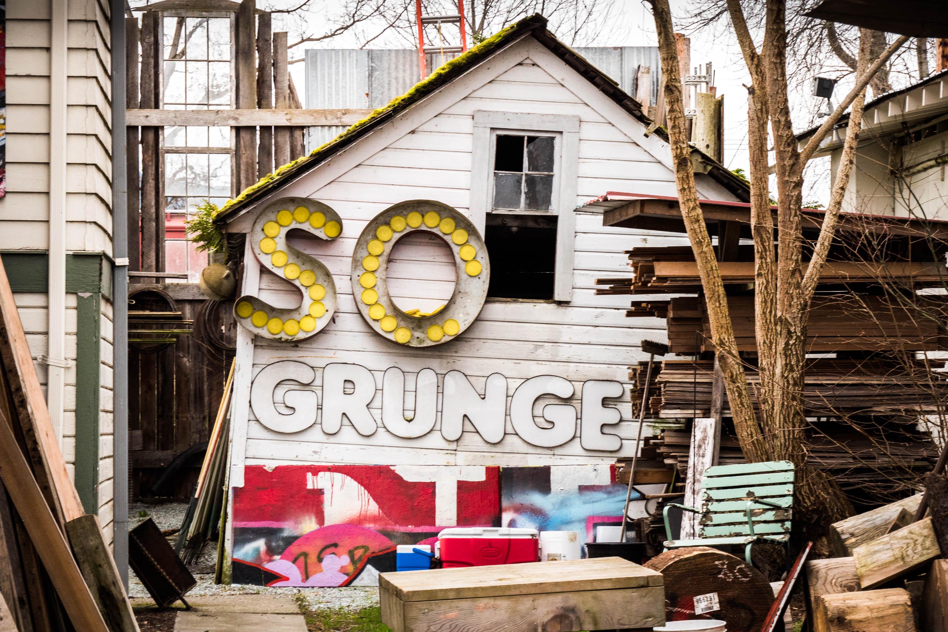 grunge junk art