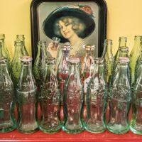 glass coke bottle