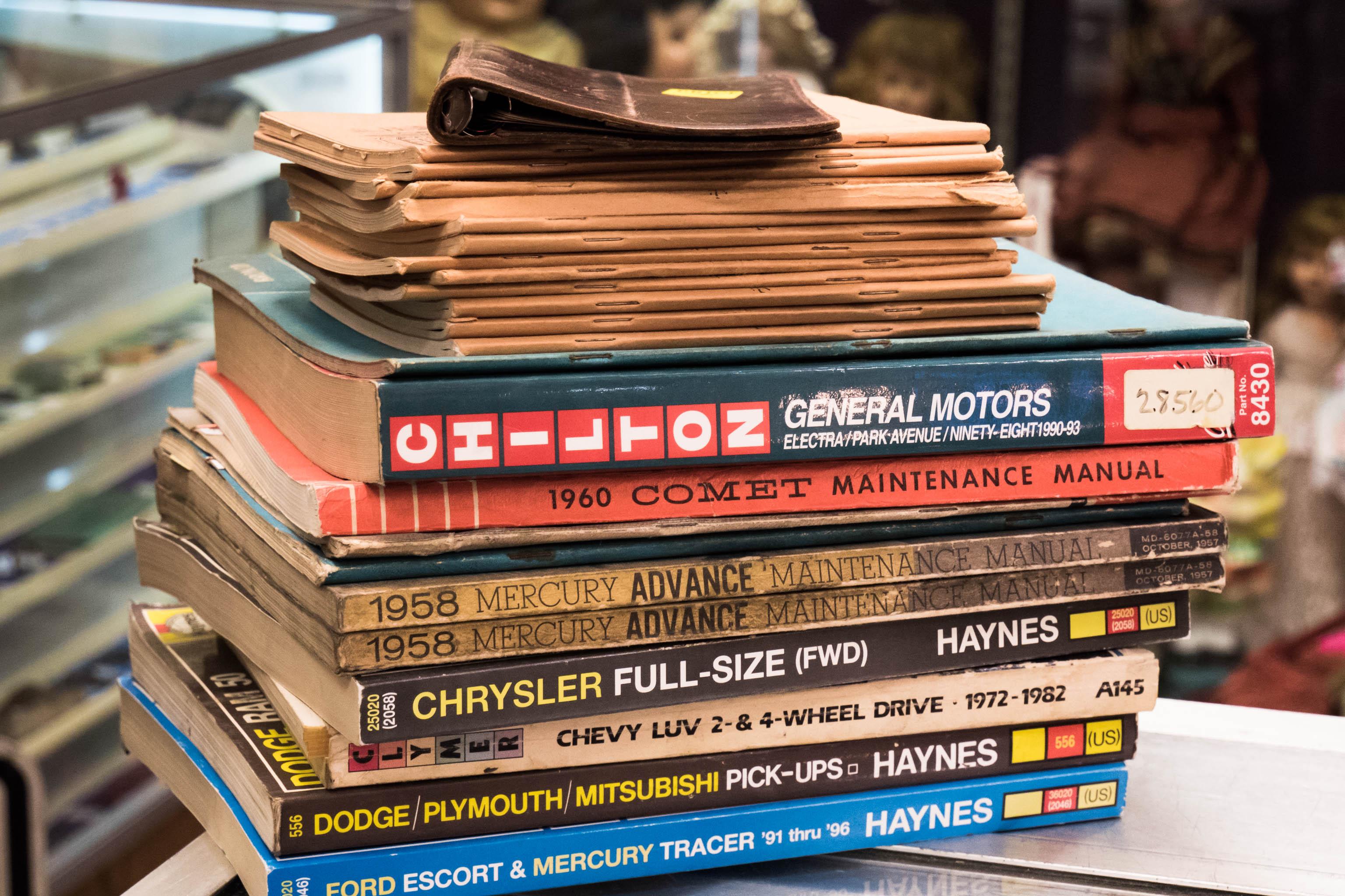 vintage automobile manuals