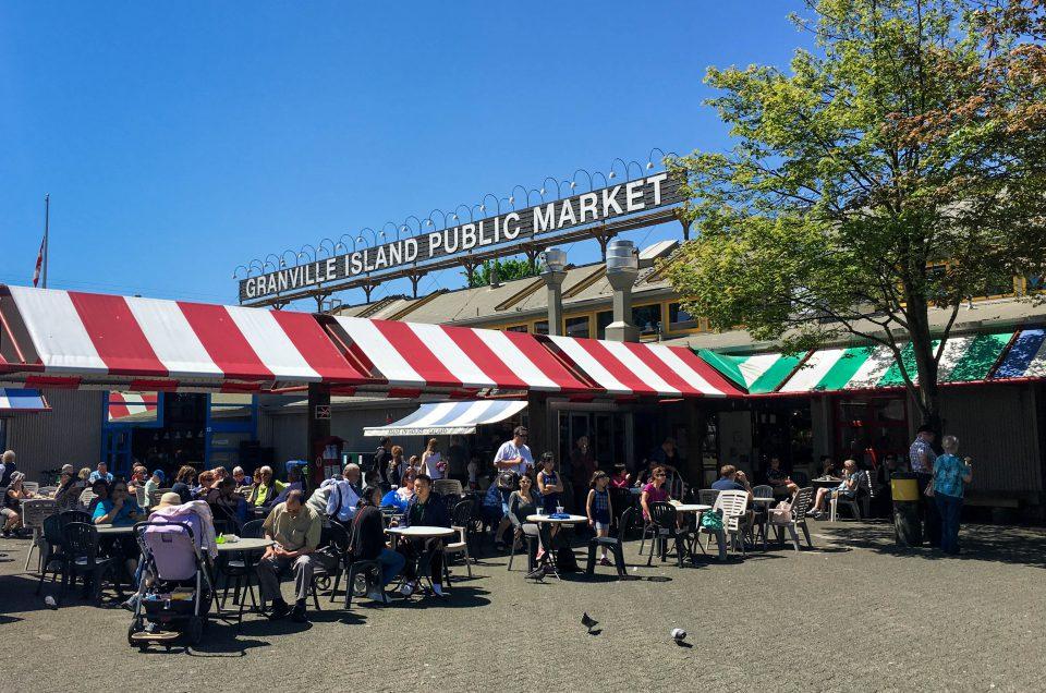 Canada, Granville Island, Vancouver BC, market