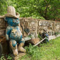 Steve Backus wood carving