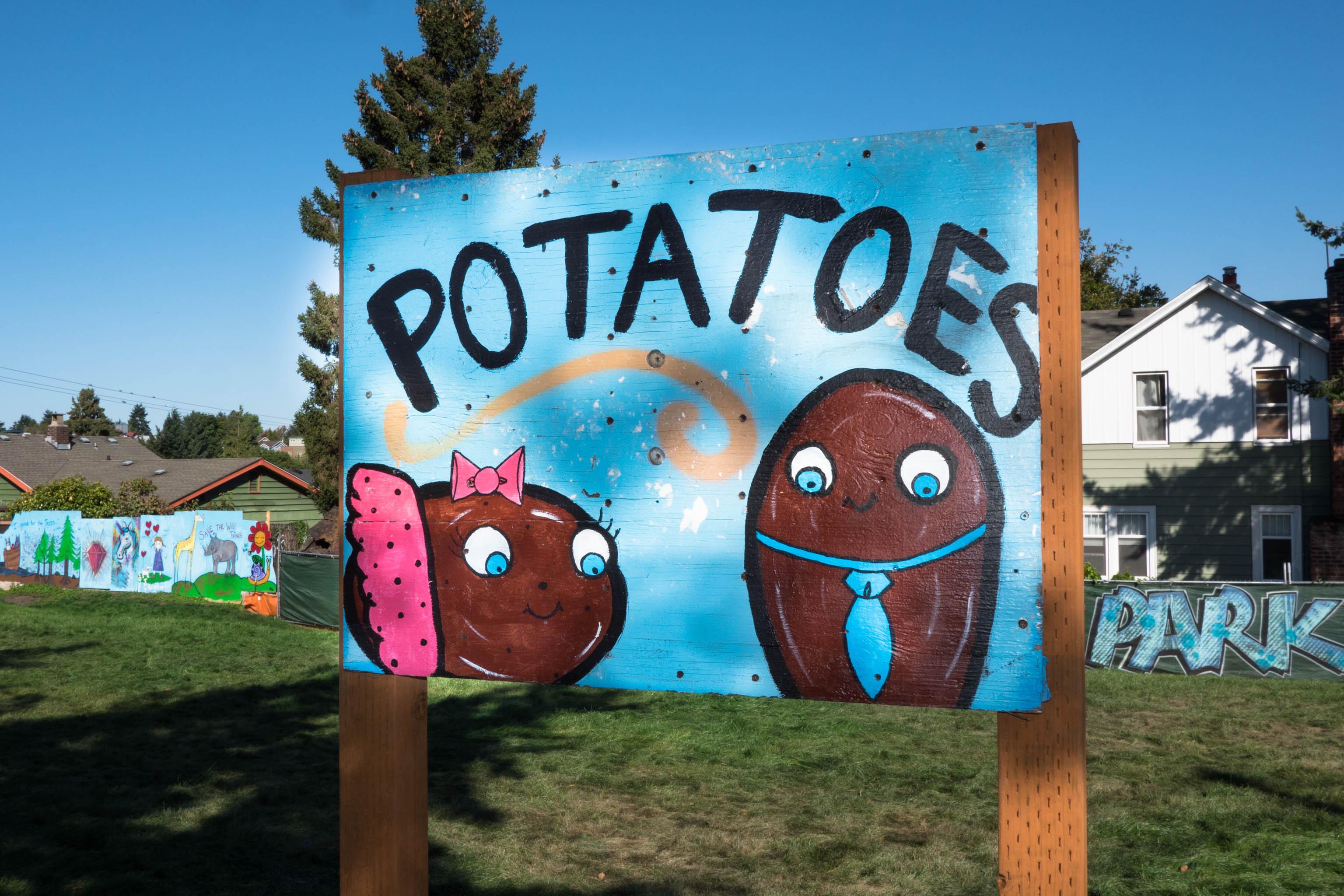 Seattle, art, greenwood, greenwood park, kid art, kid mural, murals, park