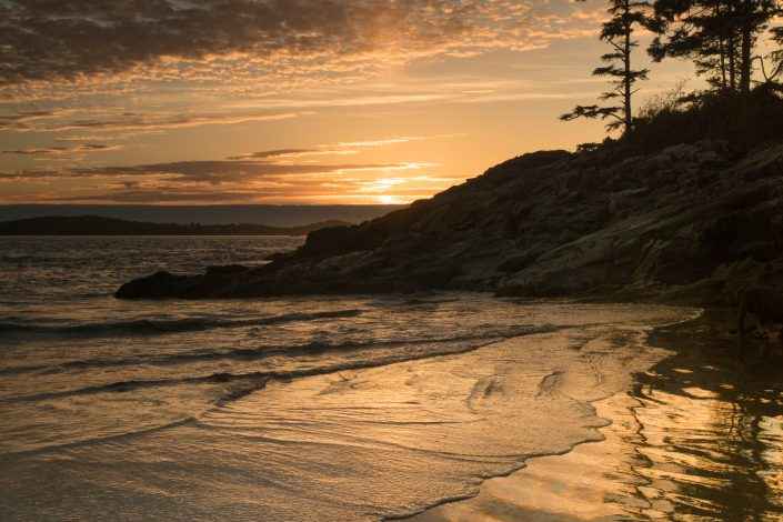 Tofino, beach, landscape, nature, ocean, pacific northwest, sunset, vancouver island, water