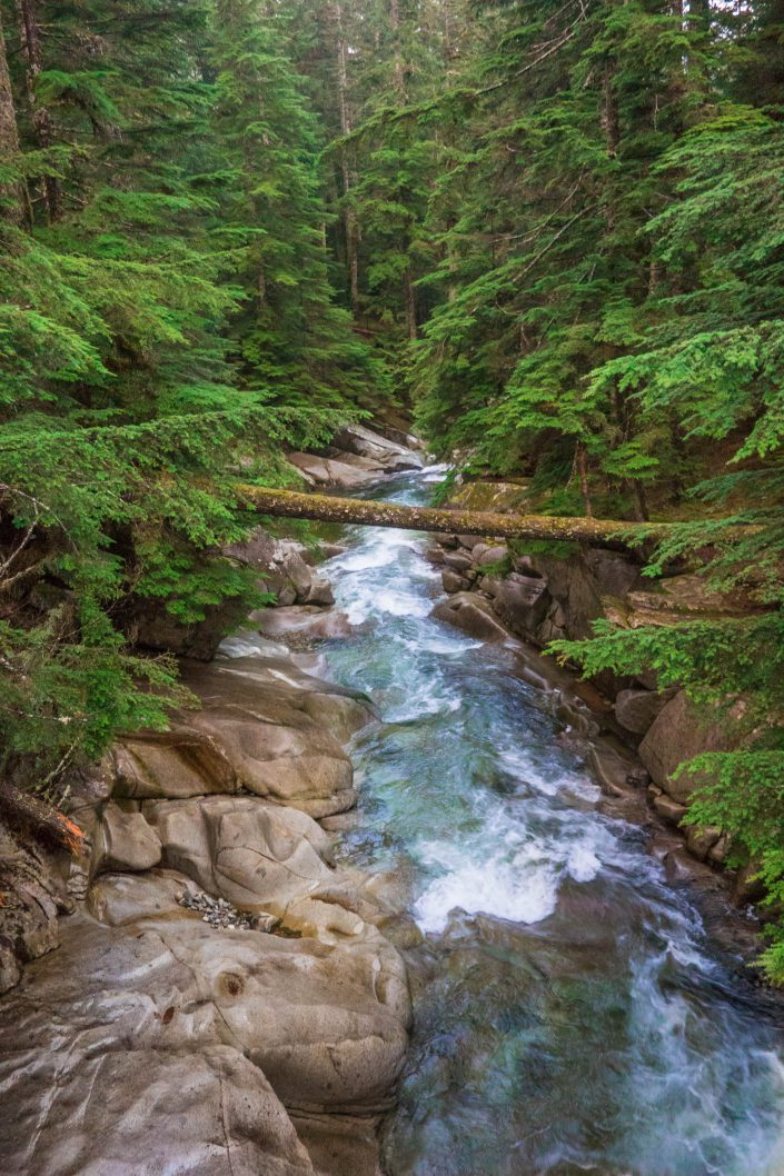 Denny Creek, Washington, landscape, nature, pacific northwest, river, trees, water
