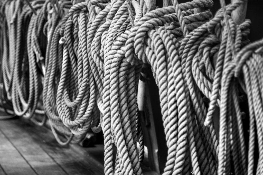 boat, rope