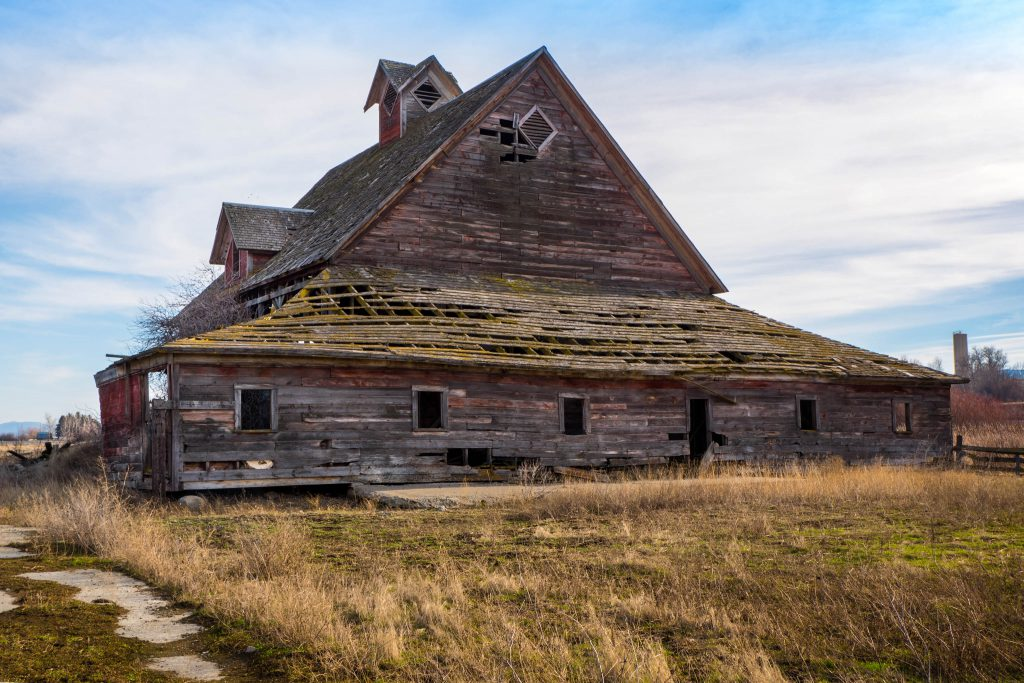 Washington, barn, barns, hutchinson barn, old barn, rustic, thorp