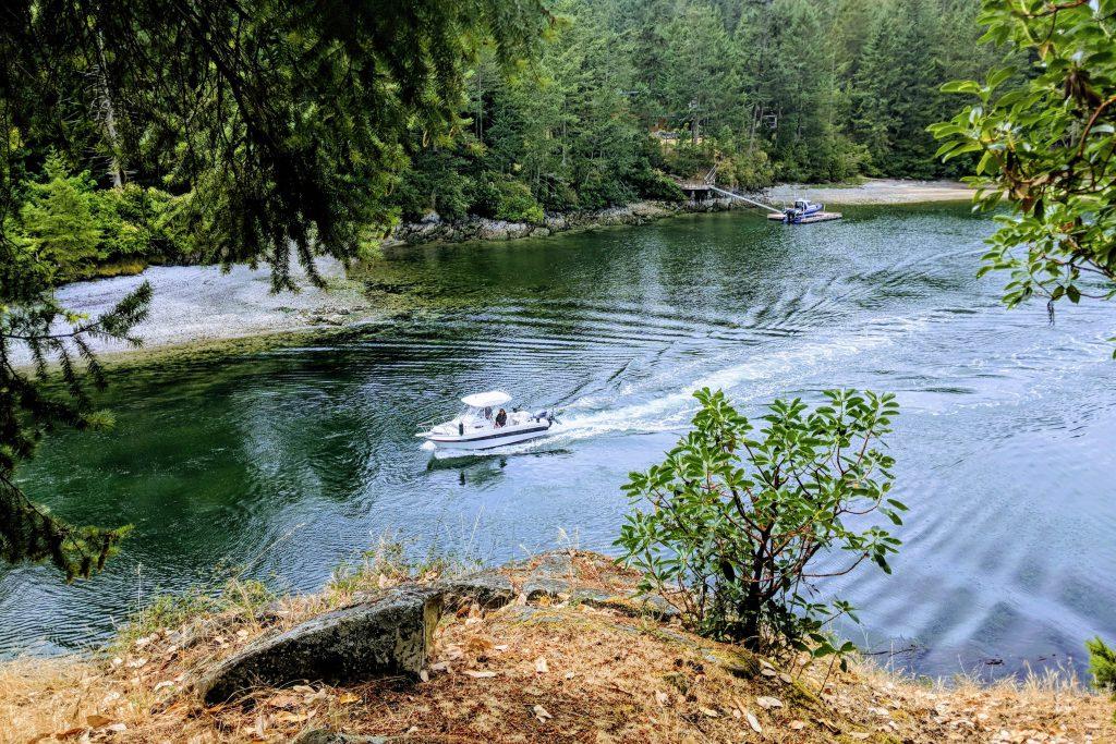 BC, boat, boating, british columbia pender island