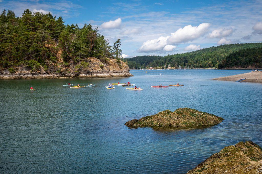 BC, british columbia, kayakers, kayaking, pender island