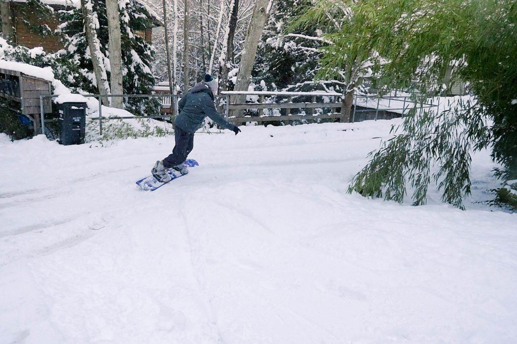 Andrew, seattle. snow, snowboard, stills