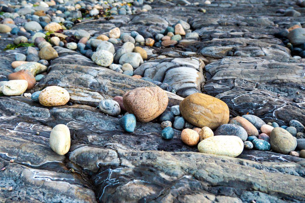 beach rocks, colorful rocks, rocks, stones